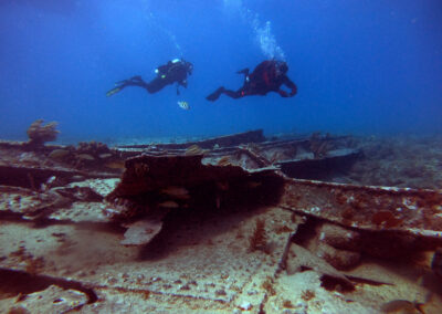 Wreck diving with Ranger Rick's Scuba Adventure at Key West